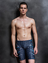 cheap -Men's Swim Shorts Elastane Board Shorts Breathable Quick Dry Swimming Surfing Water Sports Painting Summer / Stretchy