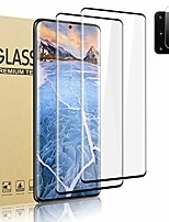 cheap -[2 + 1 lens protector] galaxy s20 plus tempered glass screen protector, [9h hardness] [3d touch] [hd full covered] [easy to install] screen protector for samsung galaxy s20 plus/s20+ 5g (6.7 inch)