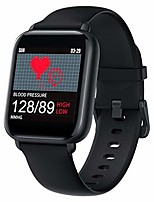 cheap -smart watch for android and ios,heart rate monitor with pedometer,sleep tracker,ip67 waterproof,fitness activity tracker,call reminder,messages reading,smartwatch for men women (black)