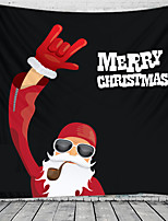 cheap -Christmas Santa Claus Holiday Party Wall Tapestry Art Decor Blanket Curtain Picnic Tablecloth Hanging Home Bedroom Living Room Dorm Decoration Christmas Old Man