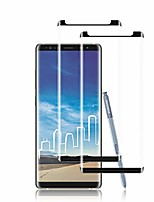 cheap -galaxy note 8 screen protector by ye, [2 pack] full coverage tempered glass screen protector [3d touch] [bubble-free] [9h hardness] screen protector glass for samsung galaxy note 8