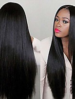 cheap -straight natural black brazilian straight hair wigs straight wig hair cosplay synthetic wigs costume