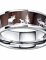 cheap -nature mens 8mm tungsten carbide wedding ring christmas pattern wood inlaid background flat style 14