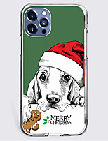 cheap -Christmas Case For Apple iPhone 12 iPhone 11 iPhone 12 Pro Max Unique Design Protective Case Shockproof Back Cover TPU