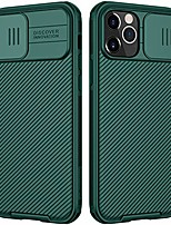 cheap -camshield pro slim case compatible with iphone 12/iphone 12 pro, protective cover case for 12 pro with camera protector hard pc and tpu phone case for phone 12 6.1'' green