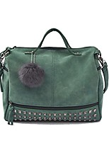 cheap -women handbags hobo shoulder bags pu leather large tote purse for ladies, green