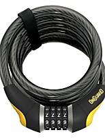 cheap -8030 doberman 15mm x 6' combo cable lock