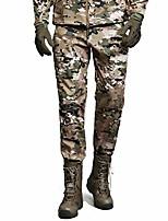 cheap -men's softshell fleece lined waterproof trousers hiking skiing warm winter outdoor pants