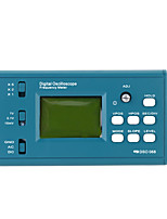 cheap -LCD Digital Storage Oscilloscope/Frequency Meter DIY Kit with Professional BNC Probe USB Interface DSO 20MSa/s 3MHz