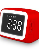 cheap -FM Bluetooth Speaker Alarm Clock Mini Speaker Support TF Card USB Portable Speaker BT 5.0 Extended Storage 32GB Display Screen