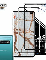 cheap -galaxy s10 plus screen protector + camera lens protector by eeshell, [2 pack + 2 pack] [new version] [touch sensitive] [case friendly] [fingerprint compatible] for samsung galaxy s10 plus