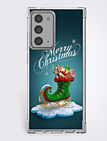 cheap -Christmas Case For Samsung S20 Ultra S20 Galaxy S20 FE 5G Unique Design Protective Case Shockproof Back Cover TPU