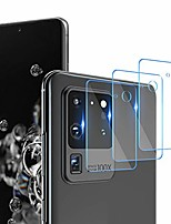 "cheap -[3 pack] camera len screen protector for samsung galaxy s20 ultra 5g (6.9""), (flexible film) (not tempere glass) hd clear anti-scratch fingerprint [3d touch] case friendly,bubble free"