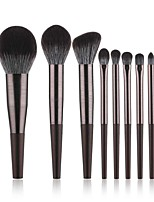cheap -10 Pcs Makeup Brushes Set Diamond Colorful Makeup Brush Diamond Rose Gold Makeup Brush Beauty Tool Set
