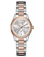cheap -women easy reader date expansion watch ladies quartz clock female bracelet quartz wrist watch