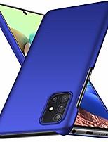 "cheap -case for samsung galaxy a71 5g,slim matte ultra thin anti-fingerprint and minimalist hard pc cover for samsung galaxy a71 5g (6.7"") 2020 (blue)"