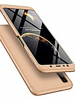 cheap -leecoco samsung galaxy a50 case ultra thin 3 in 1 360 degree full body case premium slim shockproof hard pc plastic anti-scratch bumper cover for samsung galaxy a50 3 in 1 gold ar