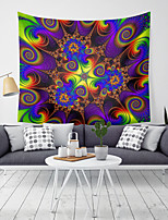 cheap -Wall Tapestry Art Decor Blanket Curtain Picnic Tablecloth Hanging Home Bedroom Living Room Dorm Decoration Polyester Various Spiral Dream Colors