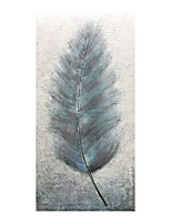 cheap -Feather Oil Painting On Canvas Abstract Contemporary Art Wall Paintings Handmade Painting Home Office Decorations Canvas Wall Art Painting Rolled Canvas(No Frame)