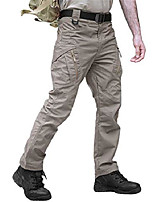 cheap -winter outdoor sport hiking pants men tactical pant city cargo slim pants men's military combat trousers khaki m