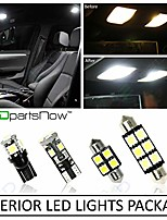 cheap -interior led lights replacement for 2013-2017 nissan pathfinder accessories package kit (9 bulbs), white +reverse lights