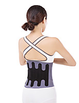 cheap -Sports Health Care Waist Support Squat Training Tteel Plate Support Waist Belt Abdomen Decompression Belt