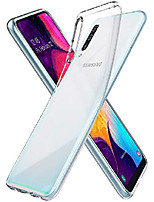 cheap -liquid crystal designed for samsung galaxy a50 / a50s / a30s case (2019) - crystal clear