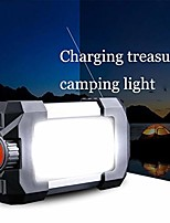 cheap -outdoor rechargeable portable 27 leds lantern lamp flasher flashlight lantern light with usb hook 10w 500lm camping tent light black