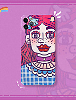 cheap -Case For Apple iPhone 12 / iPhone 11 / iPhone XR Shockproof Back Cover Cartoon Silica Gel