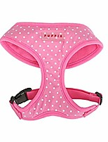 cheap -dotty harness, extra small, pink