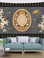 cheap -Chinese Style Wall Tapestry Art Decor Blanket Curtain Hanging Home Bedroom Living Room Decoration Polyester Antique Bird On Gray Background