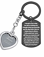 cheap -sympathy gift i thought of you today but that is nothing new sympathy keychain god has you in his arms i have you in my heart memorial gifts for loss of loved one (i thought of you black)