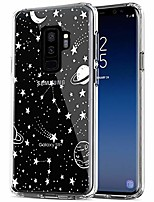 cheap -galaxy s9 plus case, anti-scratch shockproof series clear hard pc+ tpu bumper protective cover case for samsung galaxy s9+ (6.2 inch) - universe