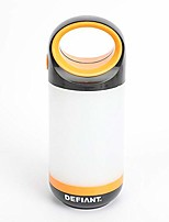 cheap -300 lumen led handy lantern (orange)