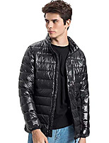 cheap -men's lightweight stretch down jacket with 90% down puffer jacket 26-black-2xl