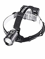 cheap -led headlamp flashlight, p70 super bright head lamp, zoomable rechargeable with batteries head light, waterproof lightweight, perfect for camping, outdoors, hunting.(type a)
