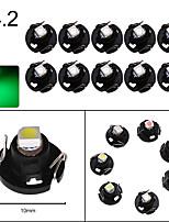 cheap -10PCS T3 T4.2 T4.7 T5 B8.3 B8.4 B8.5 LED Car light Bulb Luces LED Para 1 LEDs 1210 5050 SMD Auto Interior Side light