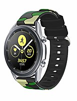 cheap -band compatible with samsung galaxy watch 3 45mm bands replacement silicone band camouflage straps for galaxy watch3 band 45mm (green, watch 3 45mm)
