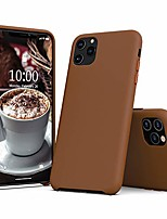 cheap -pu leather case compatible with iphone 11 pro max case, slim pu leather protective case cover (with microfiber lining) compatible with iphone 11 pro max 6.5 (brown)