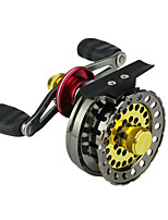 cheap -Fishing Reel Ice Fishing Reels 2.6:1 Gear Ratio+6 Ball Bearings Ice Fishing / Bass Fishing / Right-handed / Left-handed