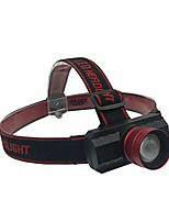 cheap -headlamp - tactical zoomable adjusttable headband headlight - bright light usb rechargeable led flashlight - outdoor camping accessories - emergency night work light (black)