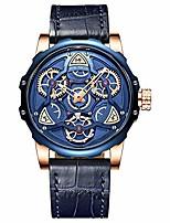 cheap -gustavo skeleton watch (blue)