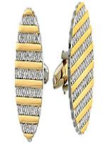 cheap -stacy adams men's cuff link, gold, no size