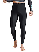 cheap -SABOLAY Men's Dive Skin Leggings Bottoms Windproof Breathable Quick Dry Swimming Surfing Water Sports Solid Colored Summer / Stretchy