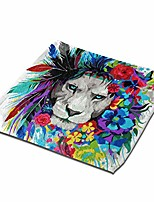 "cheap -lion printed towels,ultra absorbent hand towels wash cloths washcloths,dish towel square towel for bathroom,kitchen,hotel spa(13""x13"")"