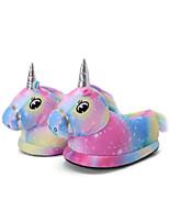 cheap -Adults' Kigurumi Pajamas Slippers Unicorn Flying Horse Onesie Pajamas Cotton Blue Cosplay For Men and Women Animal Sleepwear Cartoon Festival / Holiday Costumes / Shoes