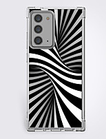cheap -Creative Graphic 3D Print Case For Samsung S20 Plus S20 Ultra S20 Unique Design Protective Clear Case Shockproof Hot Style Back Cover TPU