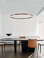 cheap -60 cm Circle Design Pendant Light Fashion Contemporary Modern Aluminium Alloy Brushed