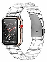cheap -compatible apple watch band 44mm with case screen protector, sport bands replacement strap full protective case for iwatch series 6 series 5 series 4 series se (crystal clear)