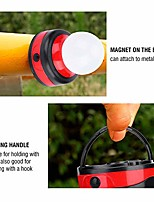 cheap -camping light led tent light with magnetic outdoor camping lantern for hiking, camping, emergencies, outages(red)